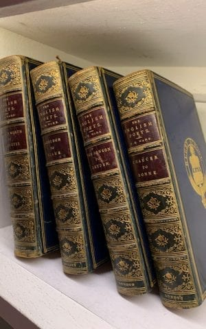 The English Poets (4 vols) Selections with Critical Introduction By Various Writers