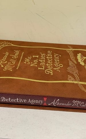 The No. 1 Ladies' Detective Agency (signed)