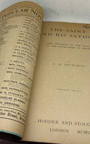 The Saint and His Saviour: The Progress of the Soul in the Knowledge of Jesus