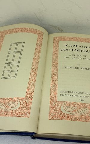Captains Courageous' A story of the Grand Banks