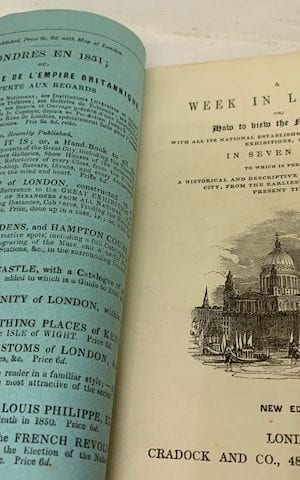 A Week in London or How to View the Metropolis… in Seven Days.