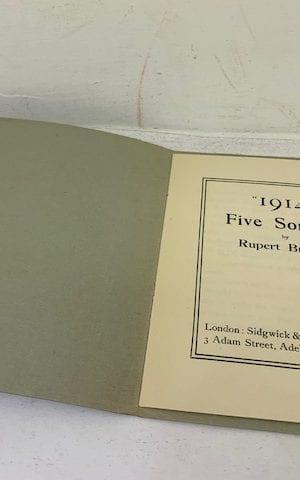 """""""1914"""" Five Sonnets"""