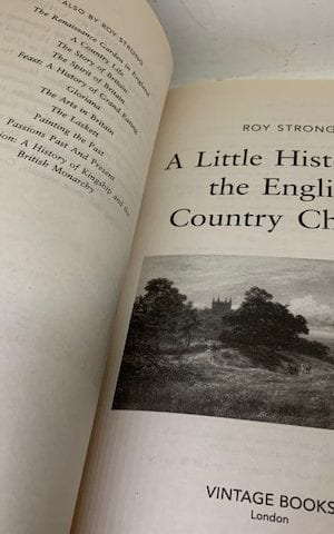 A Little History Of The English Country Church Paperback