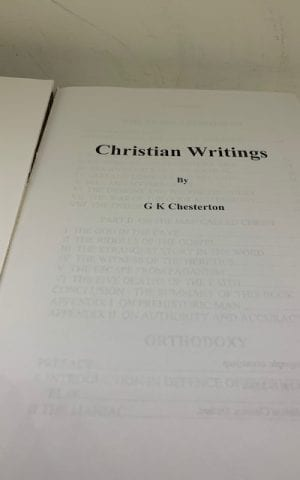 Chesterton's Christian Writings