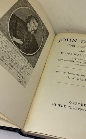 Donne's Poetry & Prose with Izaac Walton's life