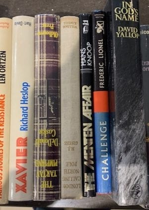 Assorted Espionage book bundle