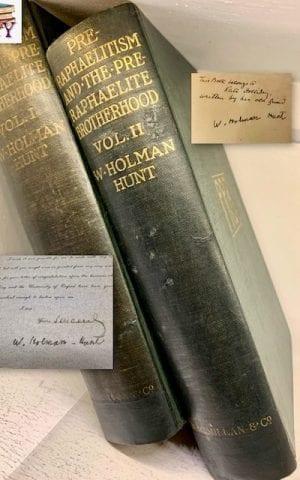 Pre-Raphaelitism and the Pre-Raphaelite Brotherhood (vols I & II SIGNED)