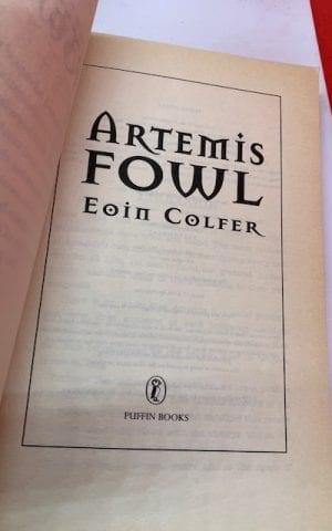 Artemis Fowl (uncorrected proof)