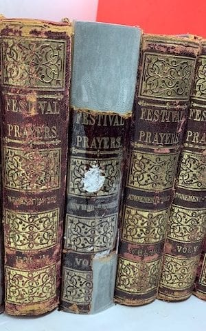 Festivals and Prayers (6 vols) according to the ritual of the German and Polish Jews