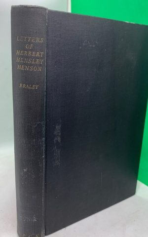 The Letters of Herbert Hensley Henson
