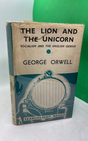The Lion and the Unicorn, Socialism and the English Genius
