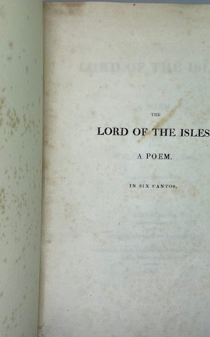 The Lord of the Isles, a poem