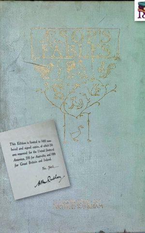 Aesop's Fables. (Arthur Rackham SIGNED)