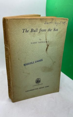 The Bull from the Sea (Uncorrected Proof)
