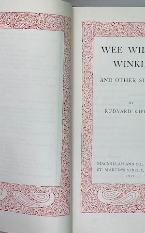 Wee Willie Winkie, and other stories