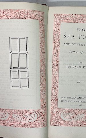 From Sea to Sea and other sketches (vol I)