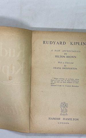 Rudyard Kipling – a new appreciation